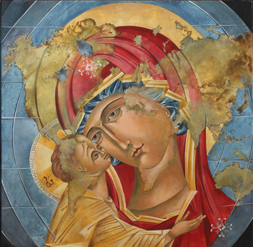 Mary of tenderness Icon