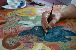 Icon Painting Art Retreats