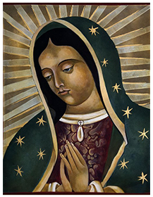 Icon of Virgin of Guadelupe