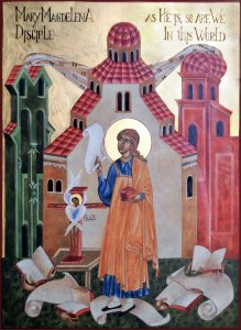 Modern Icon Paintings : Mary Magdalena Images