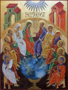 PENTECOST, FILLED THE WORLD WITH SPIRIT