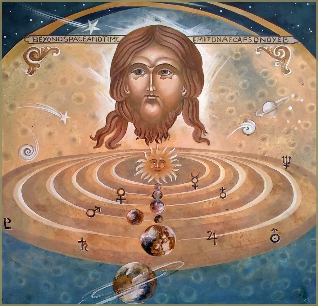 Christ Consciousness is Energy Outside Time and Space