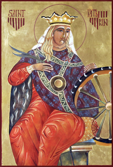 St Katherine Icon
