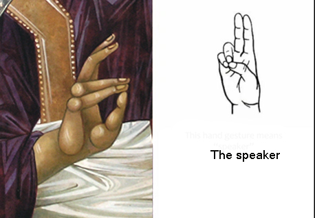 hands in iconography