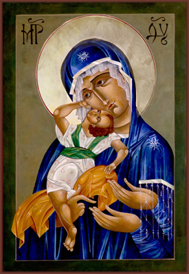 Mary of Three Hands icon