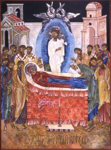 Dormition of Mary Icon