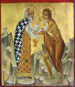 Mary of Egypt iconography