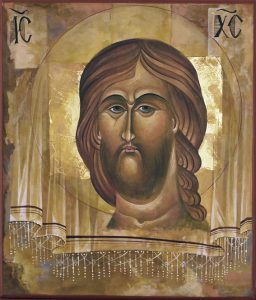 Jesus icon not painted by human hands