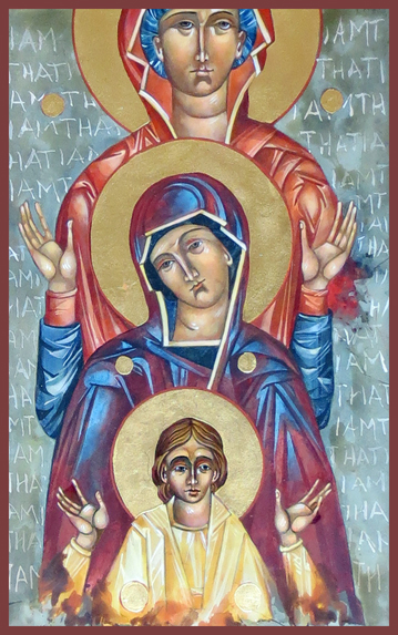Mother Mary Icons